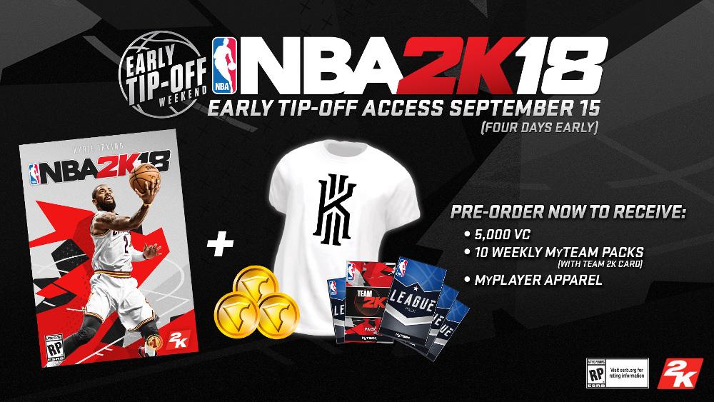 NBA 2K18 Game Editions – Standard, Legend and Legend Gold - NBA2K ORG