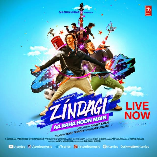Main Woh Duniya Hoon Mp3 Songspk: Atif Aslam's New Song 2015 'Zindagi Aa Raha Hu Main' Full