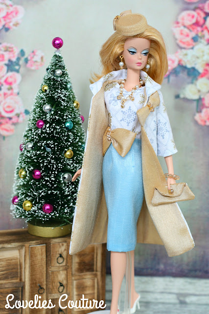 ooak handmade silkstone vintage barbie fashion roalty