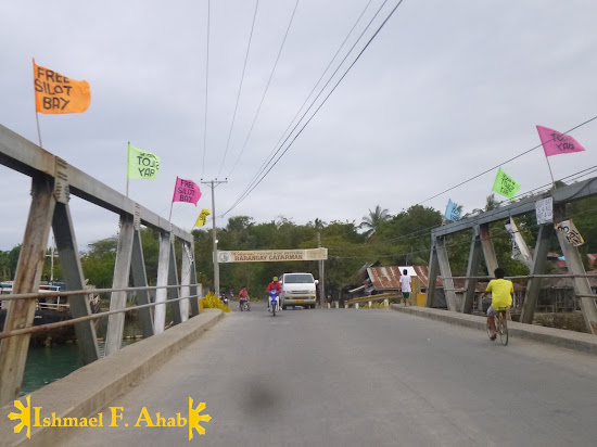 Bridge over Silot Bay in Lilo-an Cebu