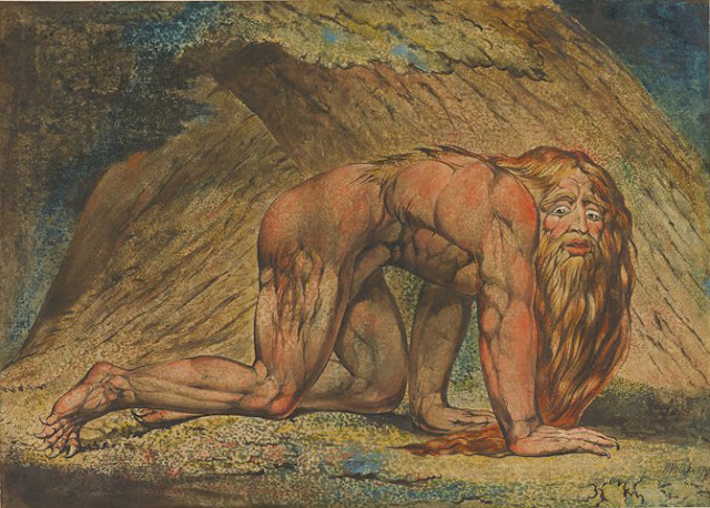 William Blake - Nebukadnezar - 1795