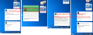 Cara BBM, WhatsApp, Line Chating Di Komputer Atau Laptop Tanpa Emulator contoh