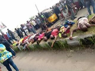 Breaking news: Gun men invaded Omoku killed 23 innocent persons (PHOTOS)