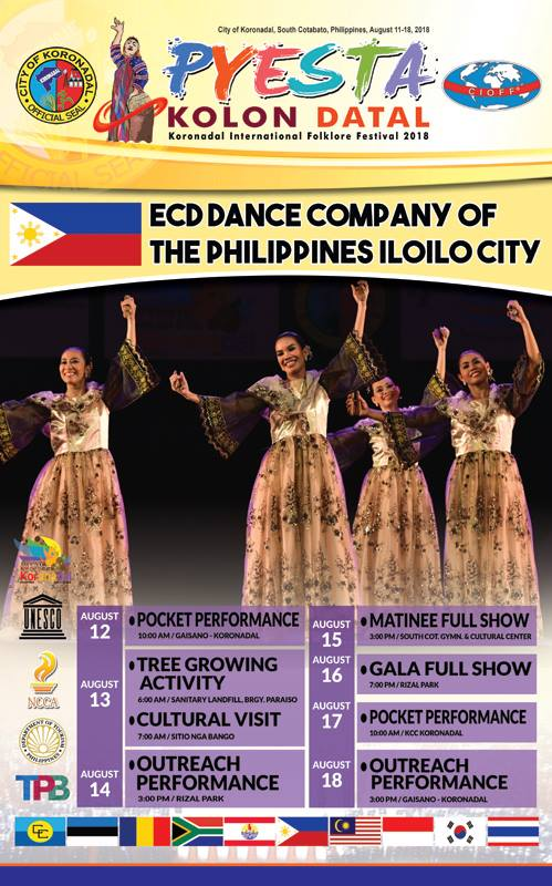 Pyesta Kolon Datal participants to perform in different towns in SOX