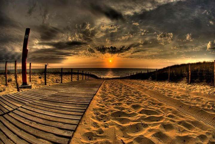 sahilde yaz resimleri