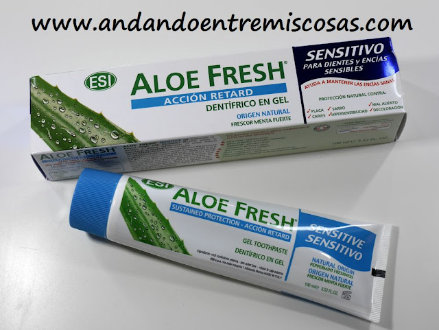 Dentífrico en gel Aloe Fresh retard sensitivo