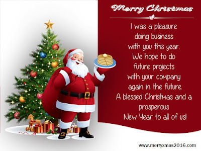 merry christmas messages for customers and clients
