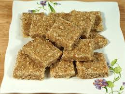 Sesame Seeds Burfi Recipe