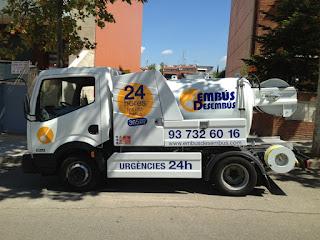 Camión Cuba urgente (Terrassa) Limpieza de fosas