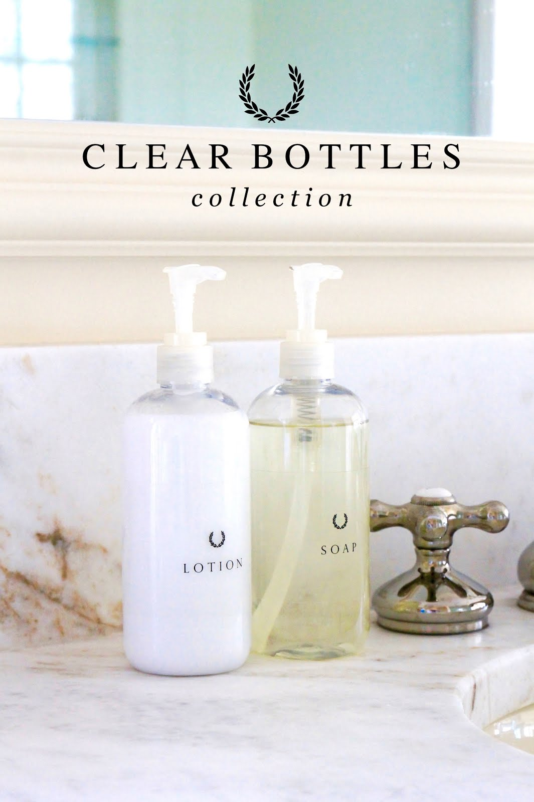 Clear Bottles Collection