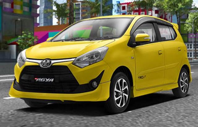 Spesifikasi dan Harga Toyota New Agya 1.0 G MT