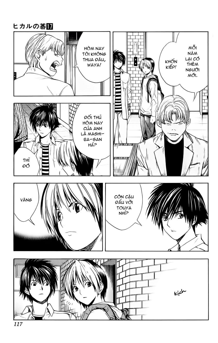 Hikaru No Go hikaru no go chap 145 trang 3