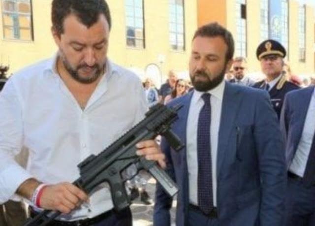 سالفيني وزير داخلية إيطاليا يدعو لفرض الخدمة العسكرية الإجبارية على الإيطاليين