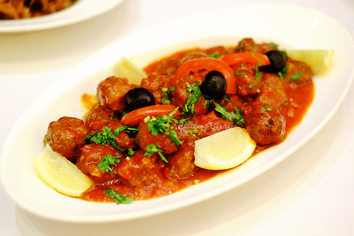 moroccan meatballs with tomato for Ramadhan at Sailendra Restaurant, JW Marriott Jakarta (www.culinarybonanza.com)