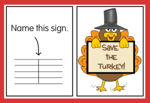save the turkey game