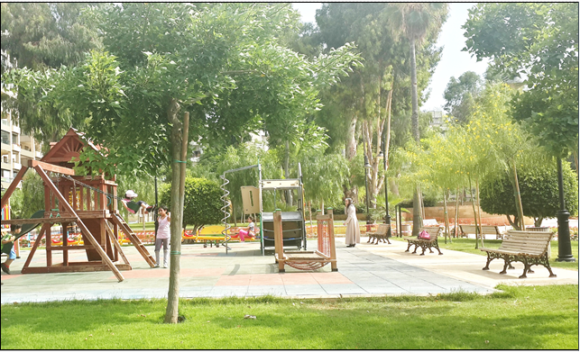 Planning standards for recreational areas for cities