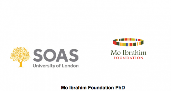 Mo Ibrahim foundation - GDAI PhD scholarship