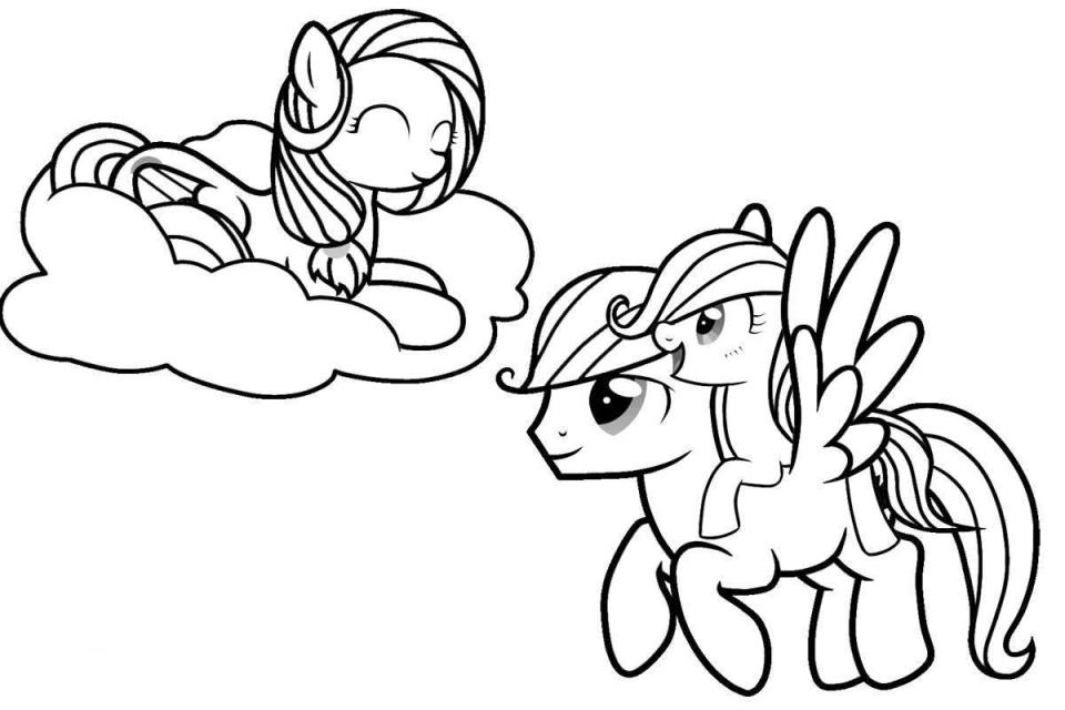 My Little Pony Friendship is Magic Coloring Pages Luna ... |My Little Pony Friendship Is Magic Coloring Pages Luna
