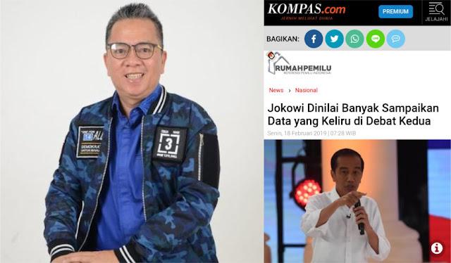 Politisi Demokrat: Kompas Nggak Tahan Juga dengan Kebohongan Jokowi