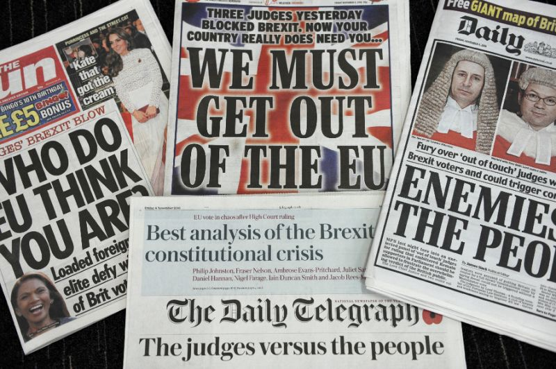 """One thing is certain,"" said the Daily Mail. Tuesday was ""not a good day for democracy"". It was the day when eight Supreme Court judges  opposed by three dissenters – handed MPs and peers the right to ""overturn"" the wishes of 17.4 million voters who opted last June to leave the EU. The court ""bowed to the wishes"" of Gina Miller, the ""gloating investment manager"" who brought the case, and ruled that only Parliament can trigger Brexit  even though both sides in the referendum campaign insisted the result would be binding. In so doing, the Court ""handed a weapon to Remoaners in both Houses who are determined to frustrate the will of the people by delaying Brexit or watering it down"". Of course, the judges say that they were only guided by the law; but ""it is impossible for anyone to be perfectly neutral"", and no doubt they were swayed by their ""rarified"", pro-EU backgrounds. Rubbish, said The Times. The Supreme Court decision ""should be cause for celebration among Remainers and Brexiteers alike"". It upheld the principle of parliamentary sovereignty, which was ""at the very centre of the original referendum debate"". Since at least the Bill of Rights of 1689, it has been a ""pillar"" of the British constitution that laws may not be changed, nor citizens deprived of their rights, without a vote in Parliament. Triggering Article 50 of the Lisbon Treaty will mean that we leave the EU within two years, which will inevitably change the law; a vote is clearly necessary. Besides, Miller's victory won't make much difference, said Matthew Norman in The Independent. The new Brexit bill  which is to be debated next week  will give MPs and peers ""a chance to look busy"". But that's about all. Jeremy Corbyn has promised to support the Bill. So if you add together the ""only Tory in the No lobby"" (Ken Clarke) to a few Labour ""refuseniks"", the SNP, a small band of Lib Dems and the Greens' Caroline Lucas, the opposition barely reaches 150. ""Even at its most truculent, the House of Lords would struggle to ignore a Commons majority of 500."" The most that Remainers can hope for are a handful of amendments ""to soften Brexit at the margins"".  The ruling certainly made an impact in Scotland, Wales and Northern Ireland, said Michael Hugh Walker in The Independent: all 11 justices rejected the request of the devolved assemblies to be consulted on leaving the EU. This was expected, but it confirms that the rest of the UK is ""consigned to a destiny"" over which it has no influence. Politicians in Edinburgh, Cardiff and Belfast are ""frustrated, angry and worried at the prospect of a Brexit guided solely by English politicians swayed by hard Brexit sentiments"". But thanks to the Supreme Court, Parliament will scrutinise the Brexit process more closely, said The Guardian. This is only right. The referendum result was clear. But it cannot be the last word on this ""complex, changing and hugely important subject"". Parliament must ""rise to the responsibility that the judges have placed upon it. Its duty is to lead, not follow""."