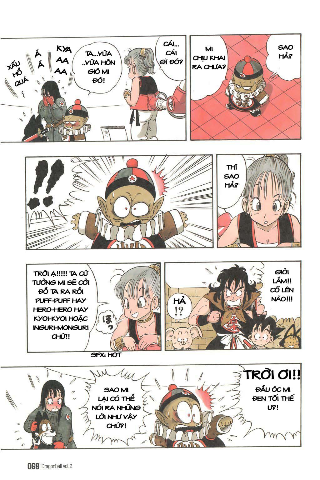 Dragon Ball chap 19 trang 8