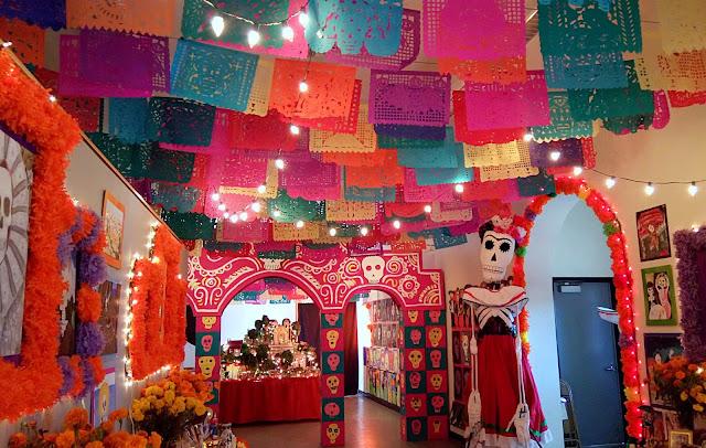 Dia De Los Muertos arts festival