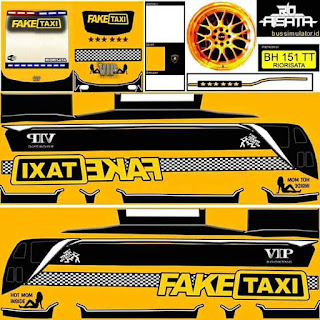 Download Livery Bus Fake Taxi