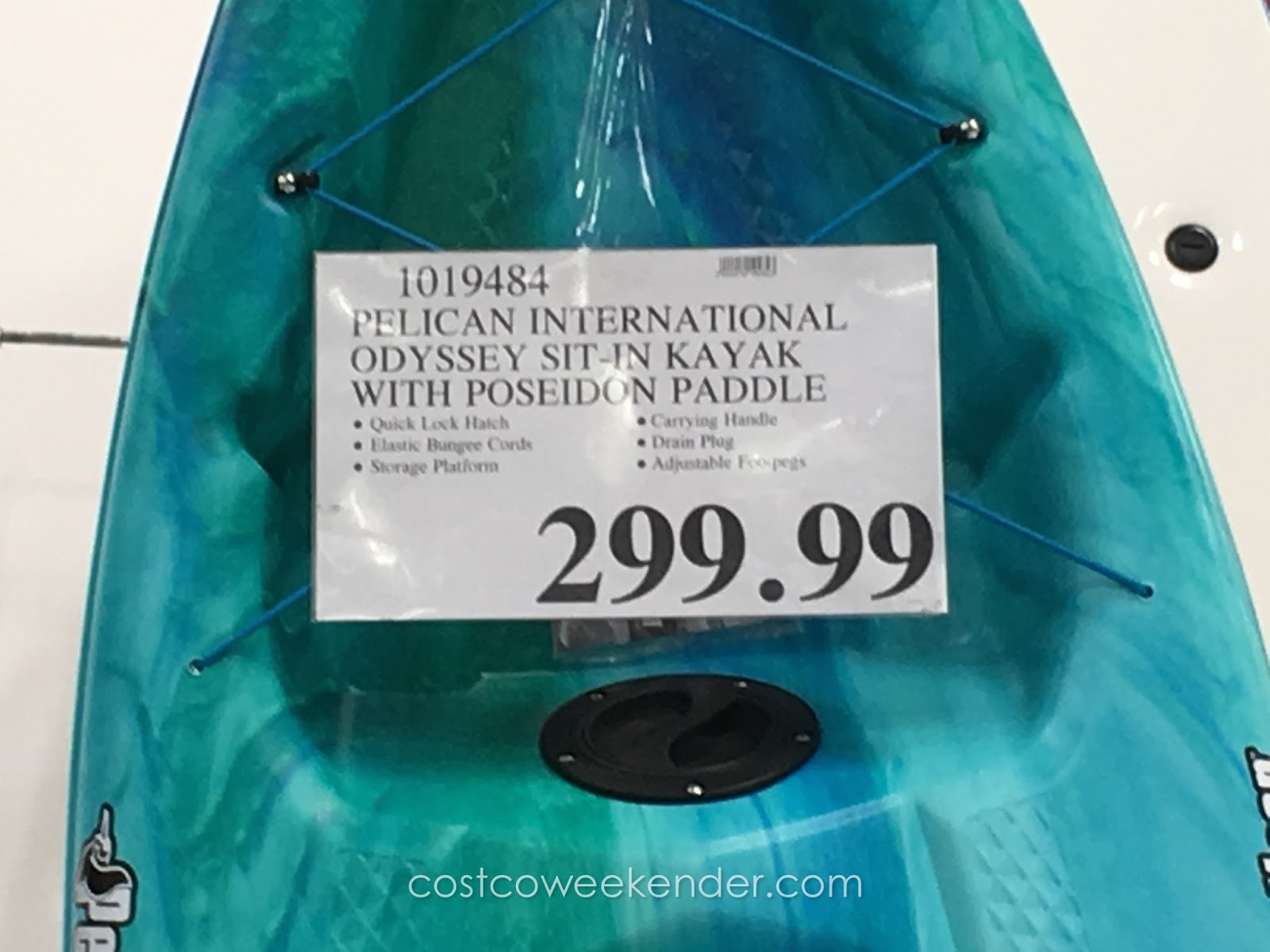 Pelican International Odyssey 100x Sit In Kayak