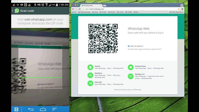 Menggunakan WhatsApp di Komputer atau Laptop
