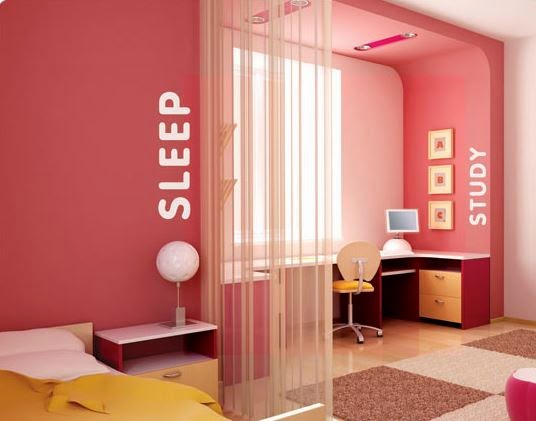 Cheerful Colors Kids Bedroom Designs Ideas Picture
