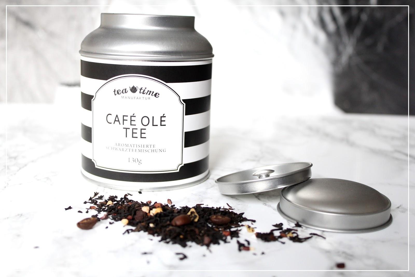 vergissmeinnicht caf ol tee schwarztee und milchkaffee in einem. Black Bedroom Furniture Sets. Home Design Ideas
