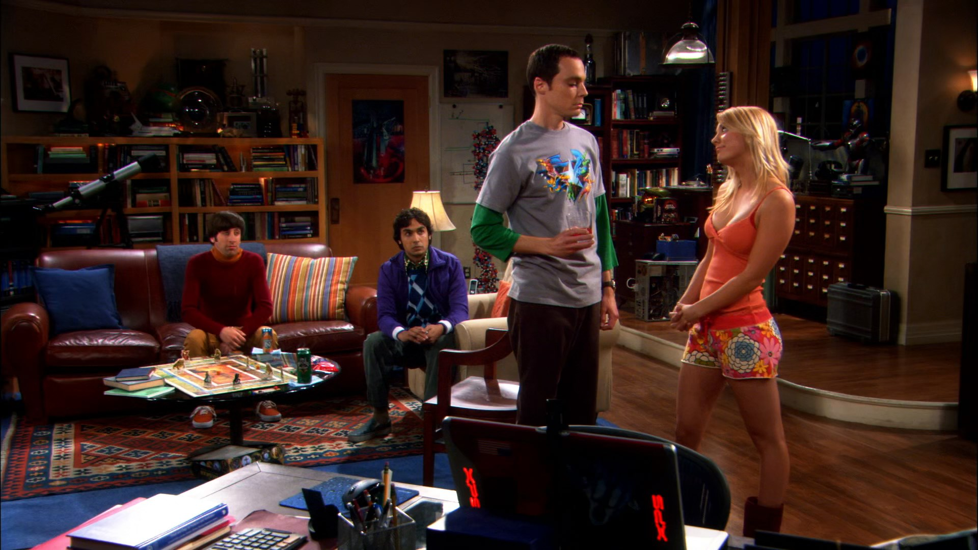 The Big Bang Theory S01 1080p BRrip|New Audio LAT