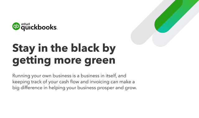 Stay in the black by getting more green