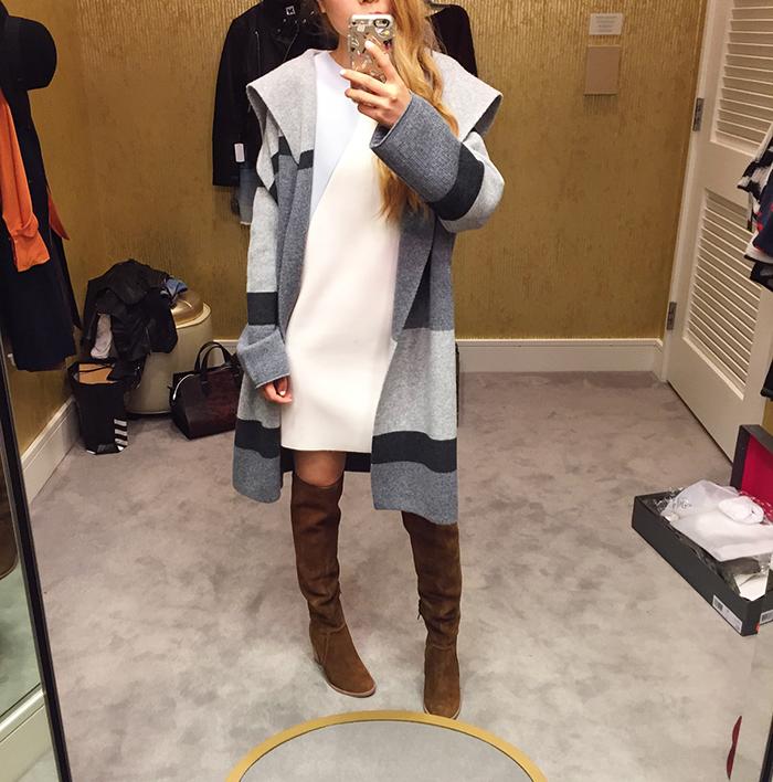 Nordstrom anniversary sale, NSale, vince mamuto otk boots, vince coat, topshop dress, fall fashion