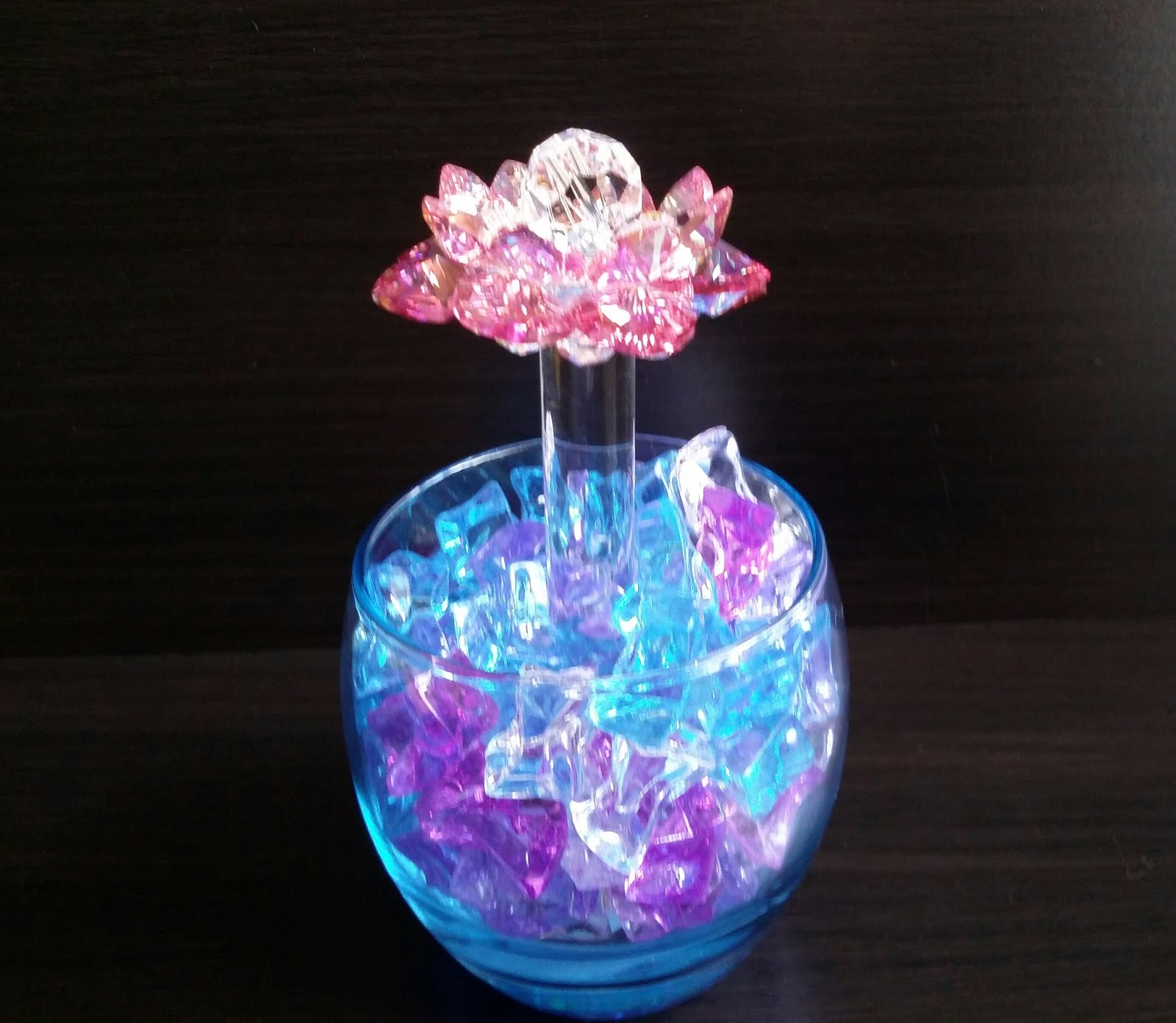 Sacred Crystal Lotus: Sacred Crystal Lotus Flower For
