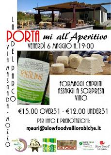 PORTAmi all'aperitivo 6 Maggio Mozzo (BG)