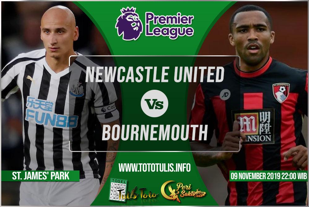Prediksi Newcastle United vs Bournemouth 09 November 2019