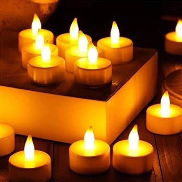 LED Candle | Diwali Special | set of 12