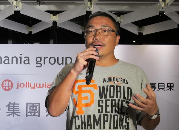 遊戲橘子集團執行長劉柏園
