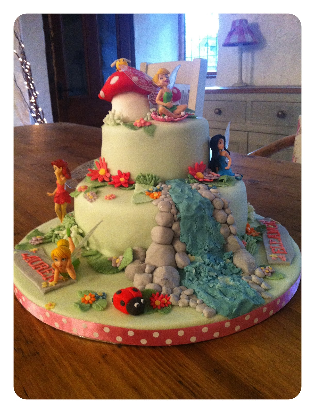 Homebird Tinkerbell Birthday Cake