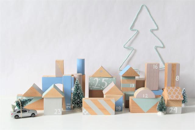 Studio Mojo, advent, DIY, kringloopgeluk, kringloop, houten blokken, adventkalender, wat stop je in een adventkalender, zelf een adventkalender maken