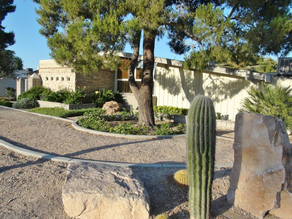 the krisel connection paradise palms remodeled expanded golf course palmer krisel home for