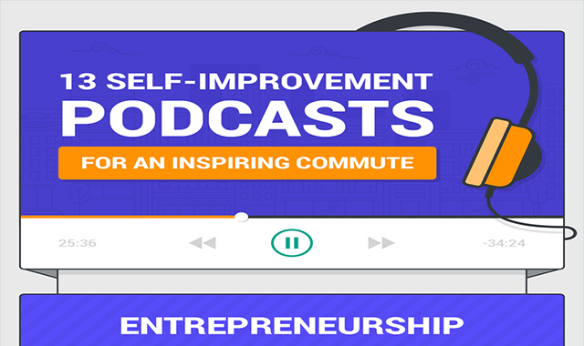 Self-Improvement Podcasts for Your Commute