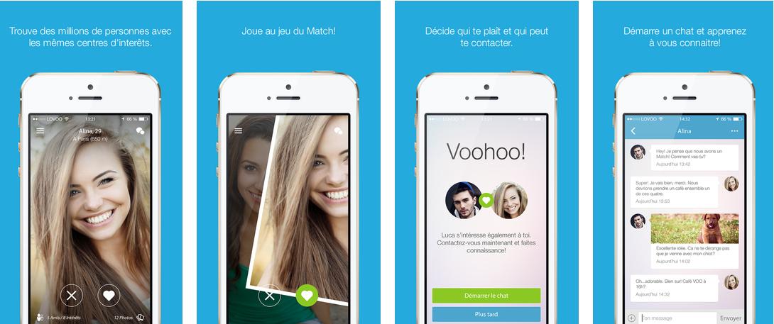 application pour rencontre iphone