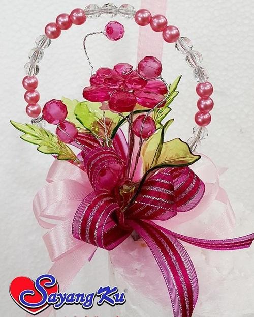 Bunga Telur Pengantin Bunga Pahar DIP Terkini Yumida