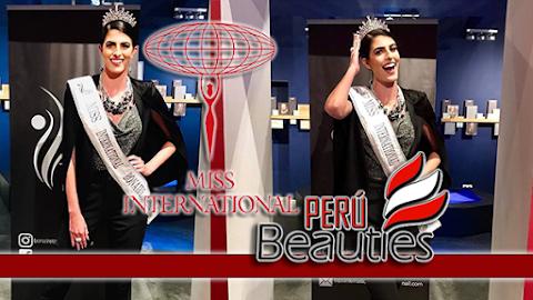 Vera Ghazzouli es Miss International Bonaire 2019