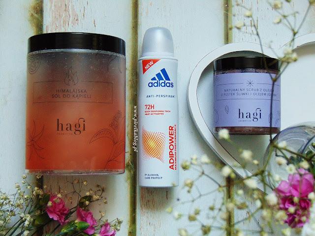 Hagi Himalajska Sól do kąpieli, Naturalny Scrub do ciała, Adidas AdiPower