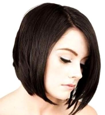Gaya rambut sebahu layer pendek