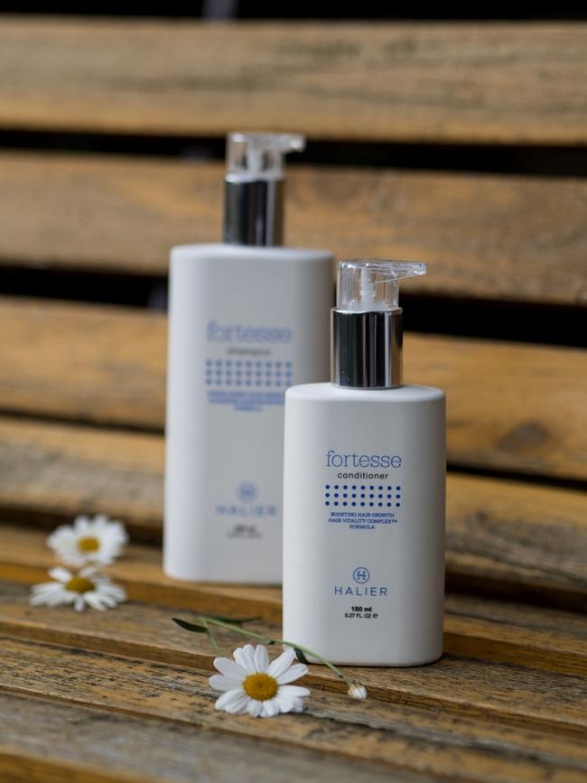 opinia o szamponie i odzywce halier fortesse