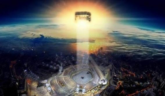 Subhanallah! Inilah Baitul Makmur, Kiblat Para Malaikat di Langit Ketujuh